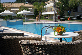 Dion Zois Villas Finikounda Pool