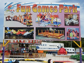 Fun Games Park in Finikounda